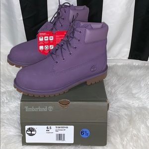 "Timberland Youth Boots Classic 6"" Montana Grape"